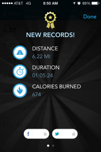 My last run was a PR!