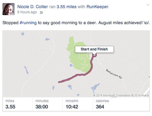runkeeper FB